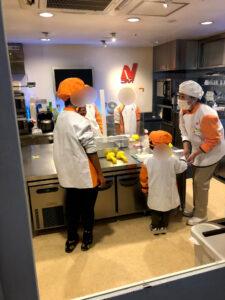 キッザニア 3歳 焼きおにぎり ニッスイ 冷凍食品 食品開発センター