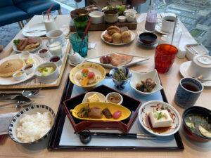 大阪マリオット都ホテル 朝食 和食 SPGゴールド