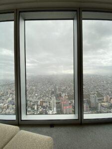 大阪マリオット都ホテル 景色 最上階 子供連れ