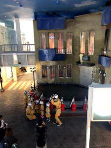 キッザニア甲子園 消防署 消防士 3歳 できる