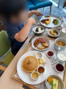 大阪マリオット都ホテル 朝食 子ども キッズ 子供 無料