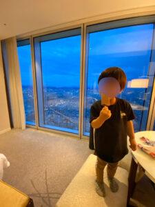 大阪マリオット都ホテル 夜景 2021 コロナ